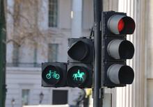 Grüne Ampel Für Reiter