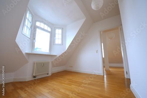 Fotografie, Obraz  Dachwohnung