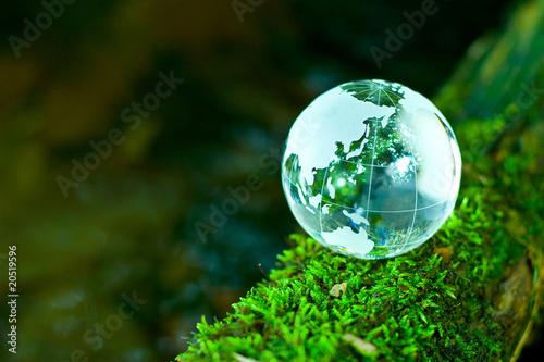 Fotobehang Natuur エコロジーイメージ