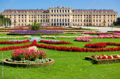 Photo  Schonbrunn palace