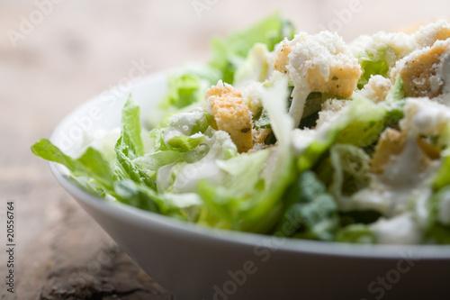 Fotografía  Ceasar salad