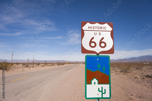 Poster Route 66 Historic Route 66
