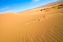 Sand Dune At Valle De La Luna ...
