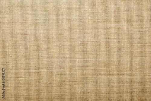 Photo sur Aluminium Tissu burlap texture