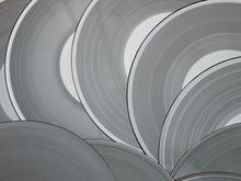 Grey Vinyl Discs