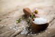 canvas print picture - Bath salt