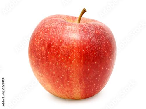 Fototapeta Red apple izolated on white background obraz