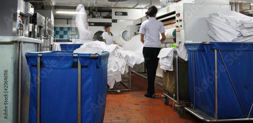 Fotografie, Obraz  laundry industry