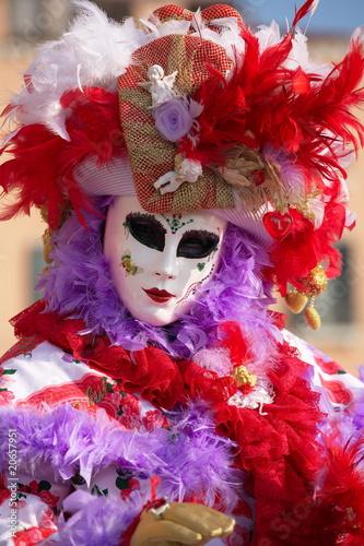 Fototapety, obrazy: Venice Carnival Masks_0057