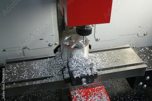 Fotografie, Obraz  CNC Frezowanie Toczenie Produkcja