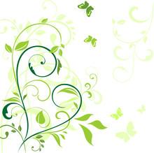 Spring Green Border