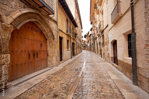 Old town in Spain #20706900