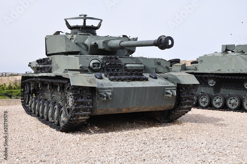 Panzer-4, nazi WW-2 tank - Buy this stock photo and explore