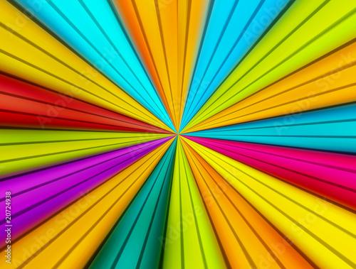 Poster Psychedelique Colors