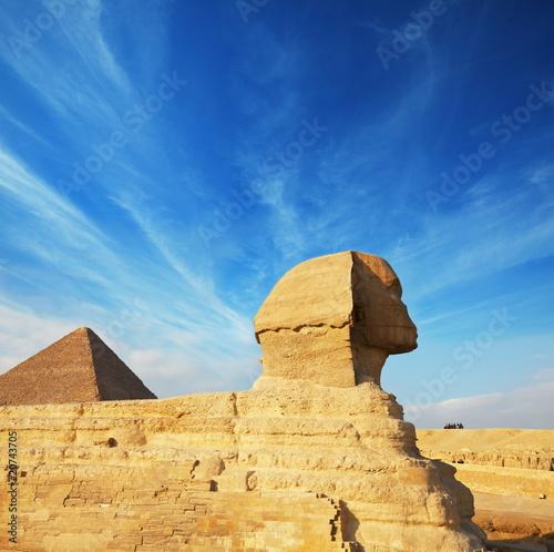 In de dag Egypte Sphynx