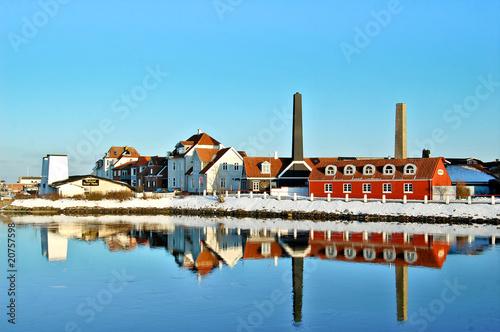 Photo  Port de Kerteminde près d'Odense au Danemark