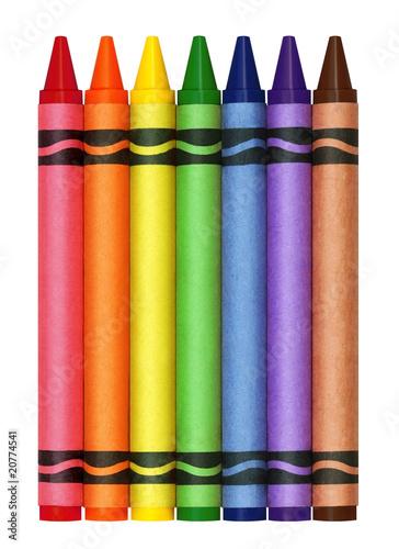 Fotografie, Obraz  Large Crayons