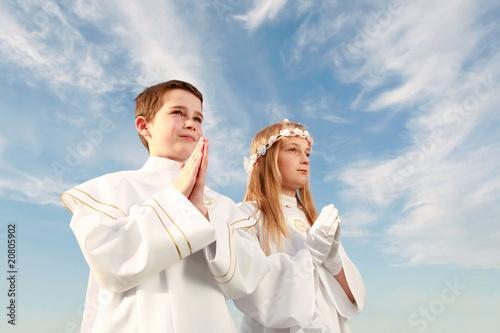 Fotografie, Obraz  holy communion