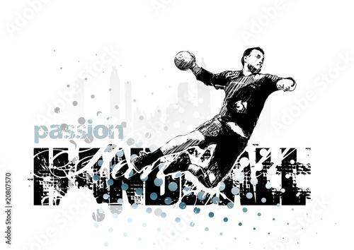 Obraz na płótnie handball 1