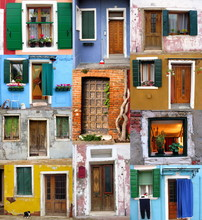 Isola Di Burano Venezia Mosaic...