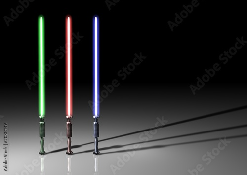 Photo  Lightsabers