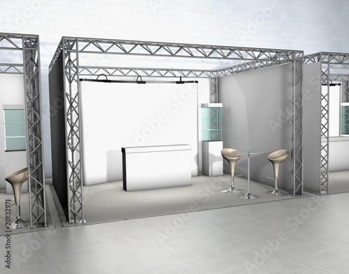 Fotografia  trade show counter display