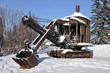 Historic Mining Steam Shovel I...