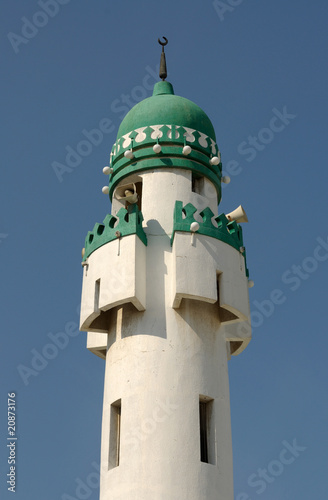 Fotografie, Tablou Minaret in Abu Dhabi, United Arab Emirates
