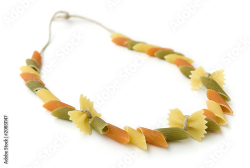 Foto  Pasta necklace
