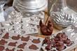 Leinwandbild Motiv Moule chocolat