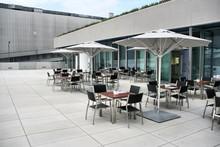 Outdoor Cafe In Munich