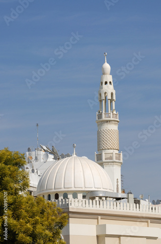 Valokuva  White Mosque in Dubai, United Arab Emirates