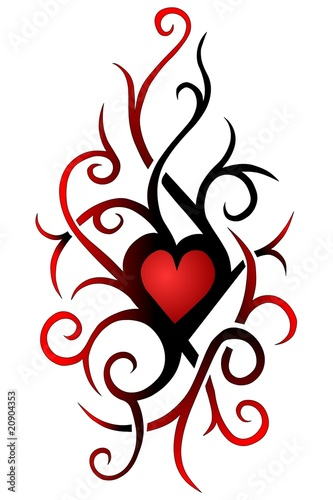 12 Tattoo Hearts Tatowierungen Herz Tattoos 13