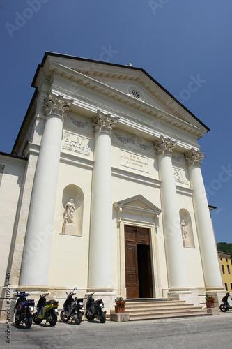 altissimo chiesa provincia di vicenza Canvas Print
