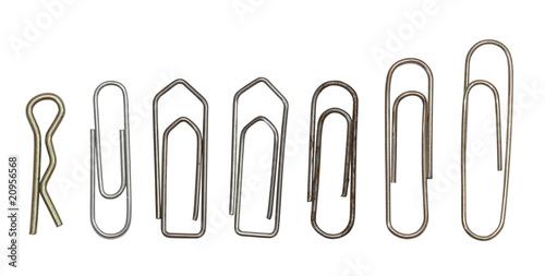 Pinturas sobre lienzo  Collection of paper clips