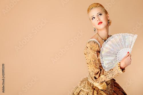 Photo medieval dress