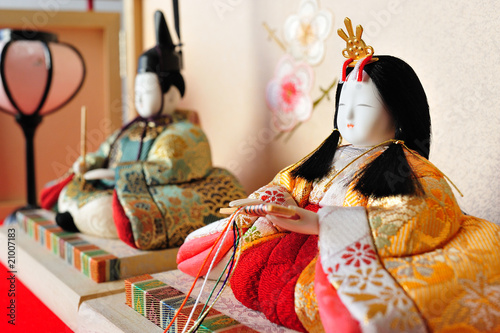 Photo traditional doll