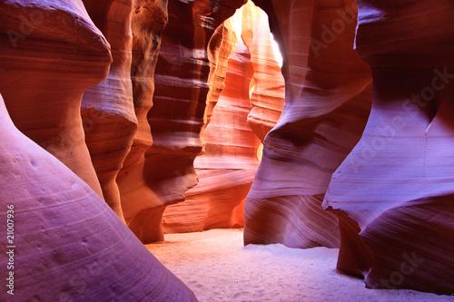 In de dag Canyon Upper Antelope Canyon