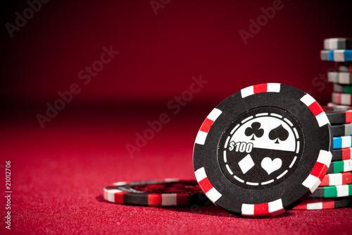 фотография  gambling chips
