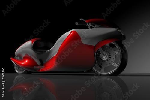 Fotografie, Obraz  motorcycle