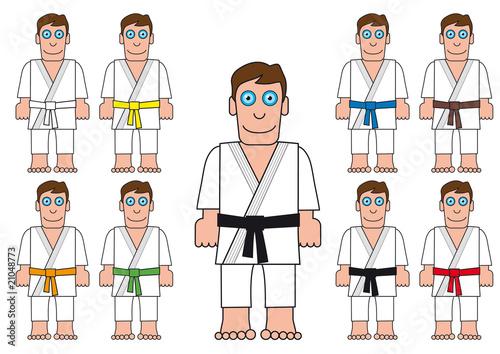 Fotografie, Obraz  Judoka