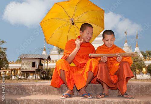 Cuadros en Lienzo Buddhistische Mönche Asien