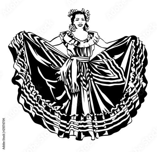 ballet folklorico dancer