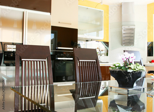 Décoration Interieur Moderne Cuisine Buy This Stock Photo And