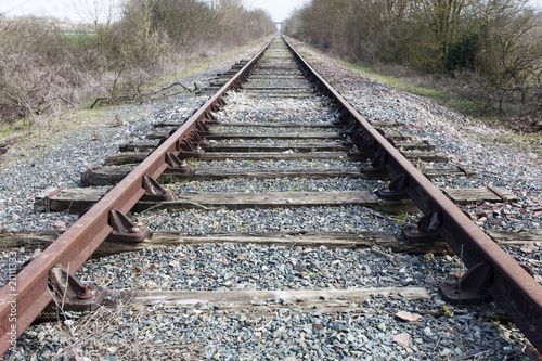 voie ferrée Canvas-taulu