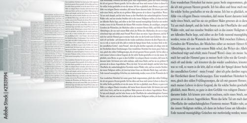 Fotografía  Text im Raum III - Focus