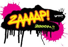 Comic Splash Zap Vector Illust...