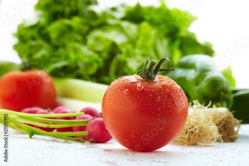 Obrazy do kuchni   pomidor