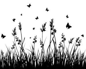 Naklejkagrass background