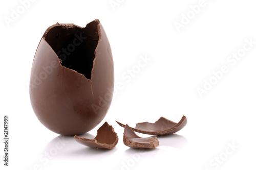 Fotografie, Obraz  Uovo di cioccolato
